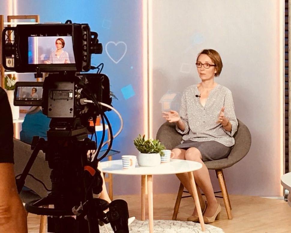 Petra Vymětalová - počítačová blondýna v TV Seznam