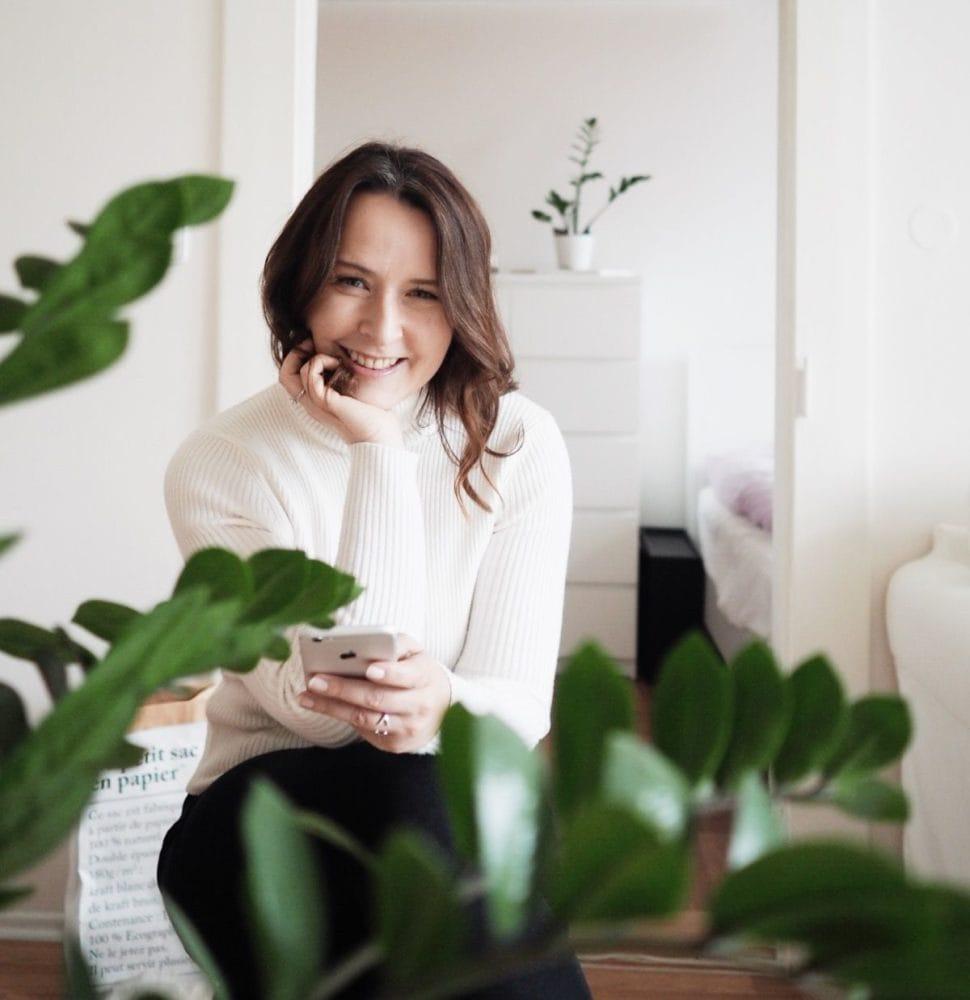 Květuše Vašířová autoportrét fotky pro Instagram